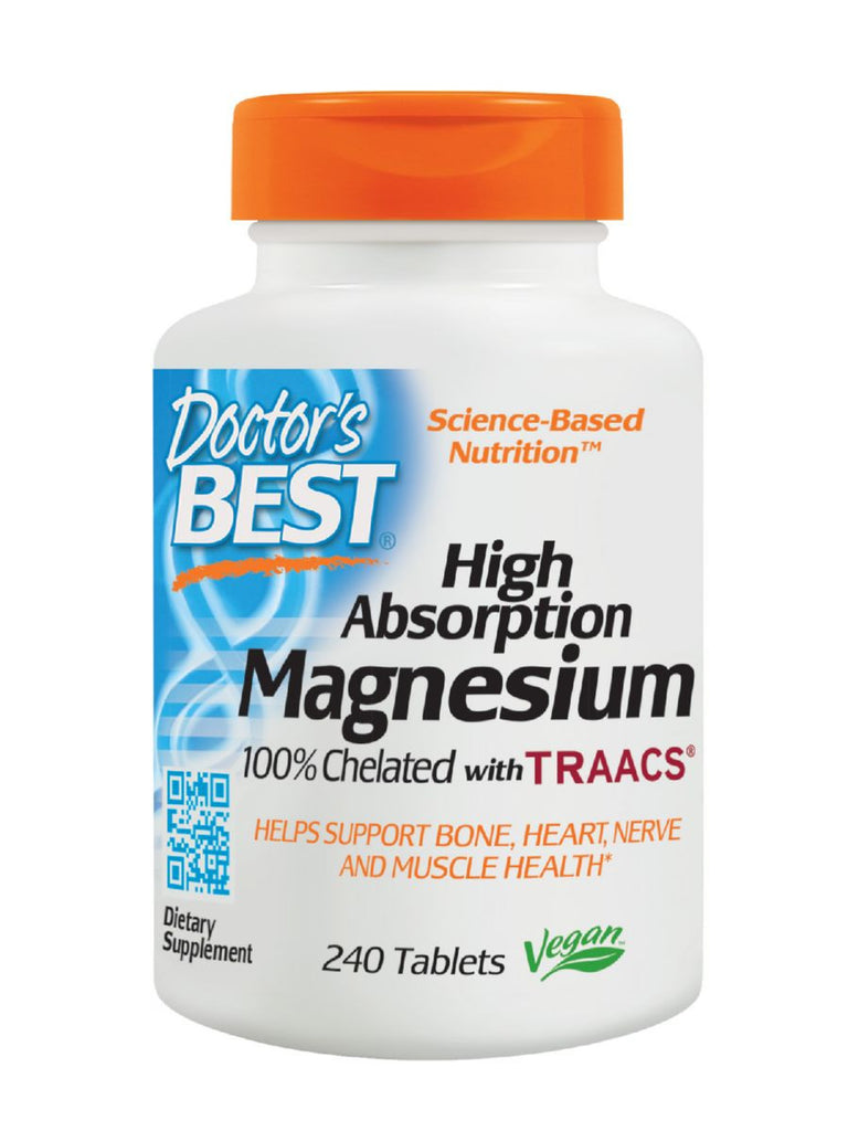 High Absorption Magnesium, 100 mgElemental, 240 ct, Doctor's Best