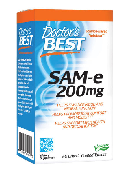 SAMe 200 mg, 60 ct, Doctor's Best
