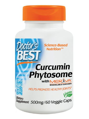 Curcumin Phytosome with Meriva, 60 veggie caps, Doctor's Best