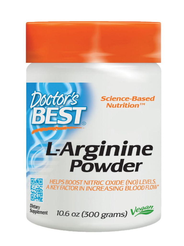 Doctor's Best, L Arginine Powder, 300 grams
