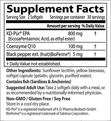 Doctor's Best, Heart Prime with KD Pur EPA, 60 softgels