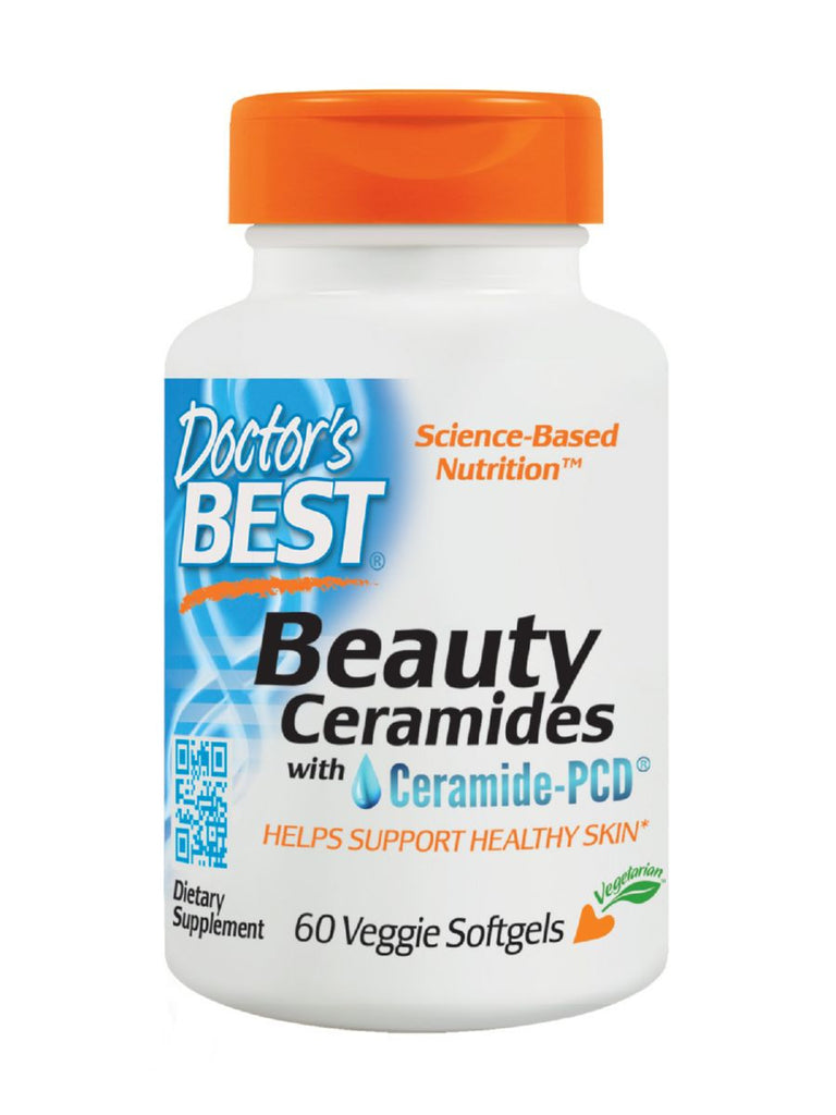 Doctor's Best, Beauty Ceramides, 60 veggie softgels