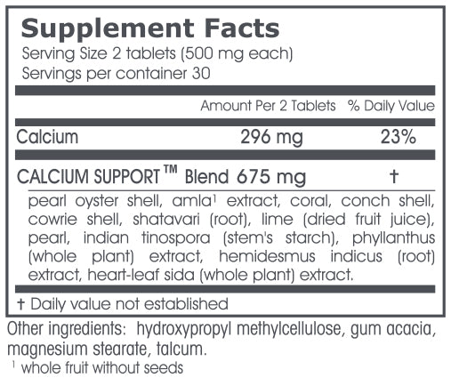 VPK, Calcium Support, 60 tablets