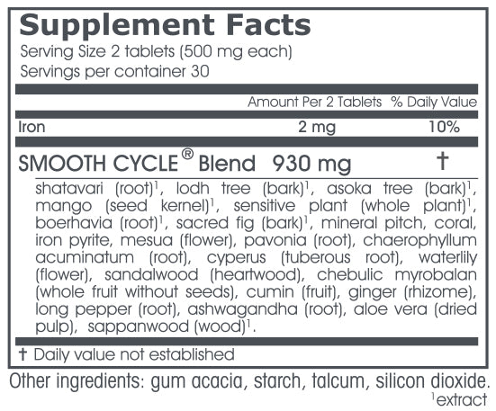 VPK, Smooth Cycle, 60 tablets