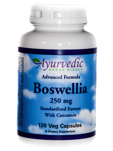 Advanced Formula Boswellia, 120 ct, Ayurvedic Herbs Direct