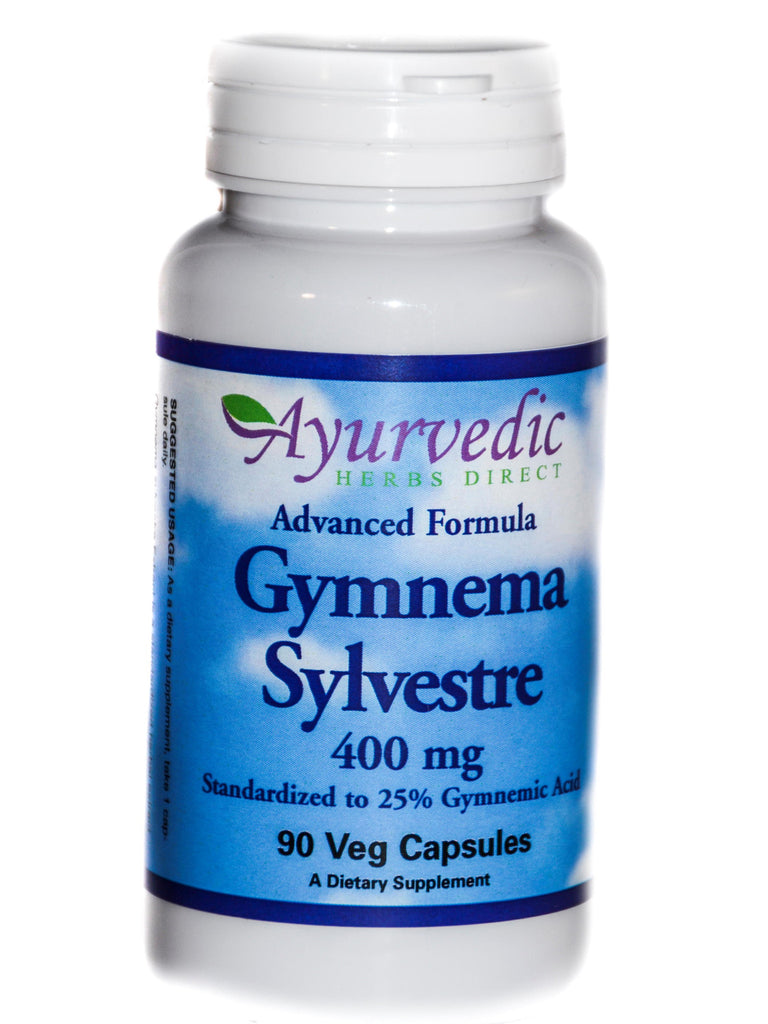 Advanced Formula Gymnema Sylvestre, 90 ct, Ayurvedic Herbs Direct