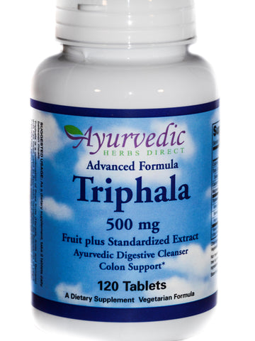 Advanced Formula Triphala, 120 ct, Ayurvedic Herbs Direct