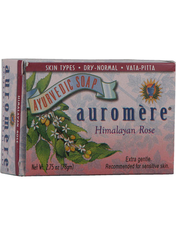 Himalayan Rose Soap, 2.75 oz, Auromere