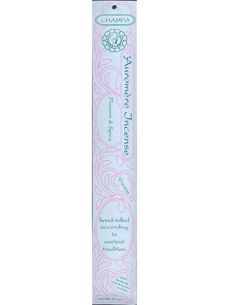 Champa Incense, 10 gm, Auromere