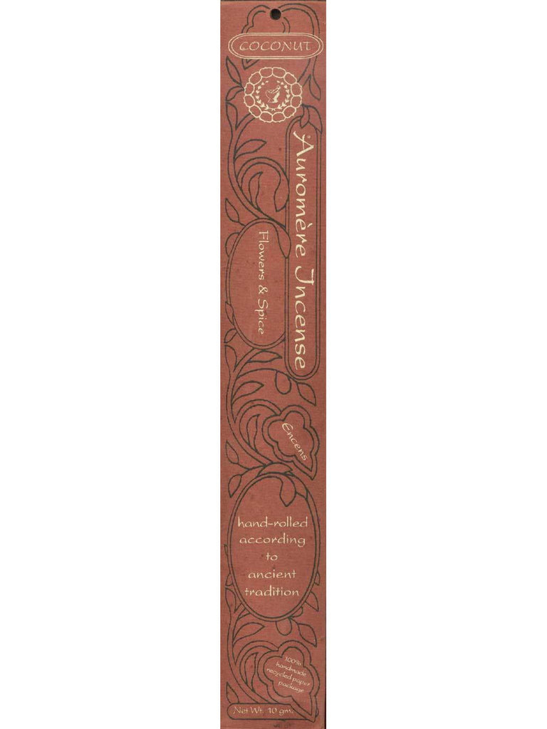 Coconut Incense, 10 gm, Auromere