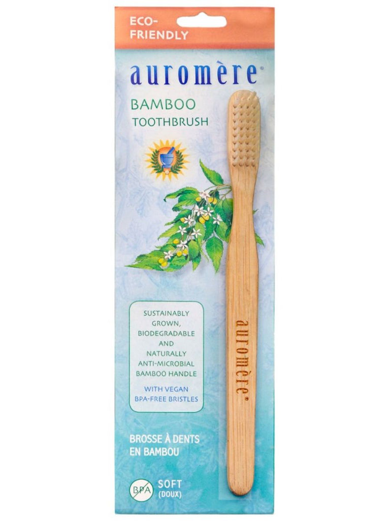 Auromere, Bamboo Toothbrush, 1 pc