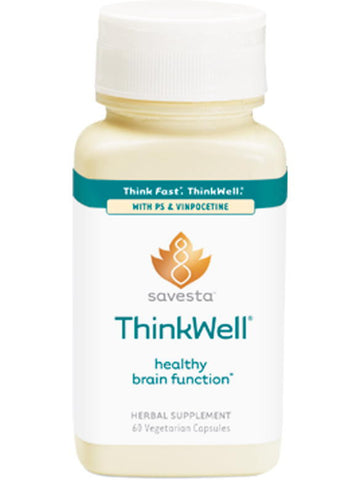ThinkWell, 60 vegicaps, Savesta