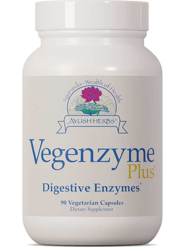 Vegenzyme, 90 vcaps, Ayush Herbs