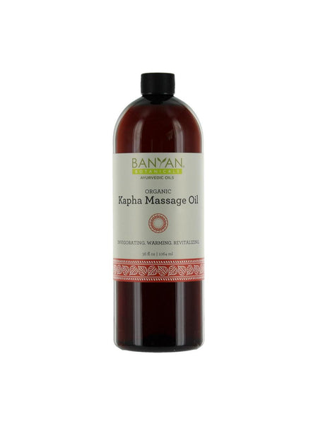 Kapha Massage Oil, Organic, 34 fl oz, Banyan Botanicals