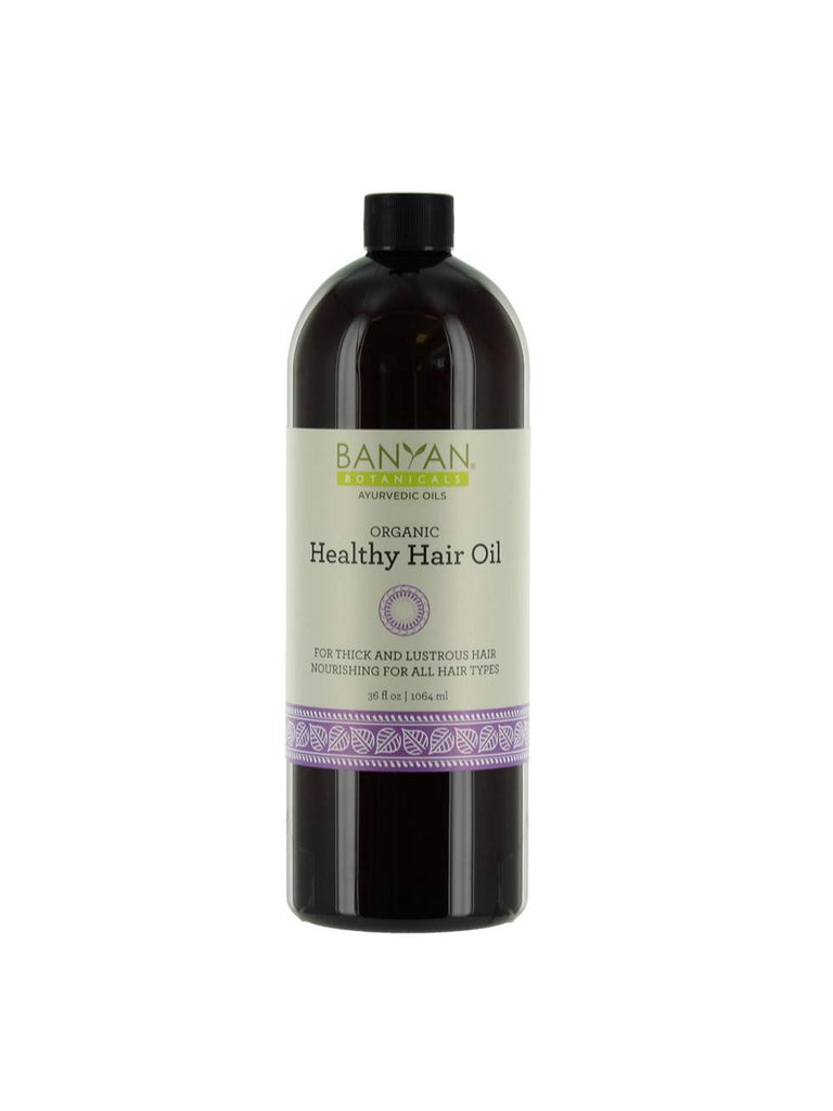 Healthy Hair Oil, 34 fl oz, Banyan Botanicals