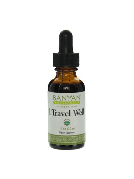 I Travel Well, Liquid Extract, 1 fl oz, Banyan Botanicals