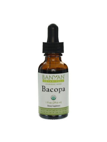 Bacopa, Liquid Extract, 1 fl oz, Banyan Botanicals