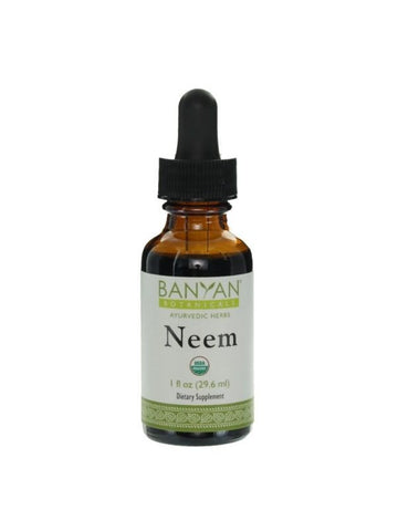 Neem, Liquid Extract, 1 fl oz, Banyan Botanicals