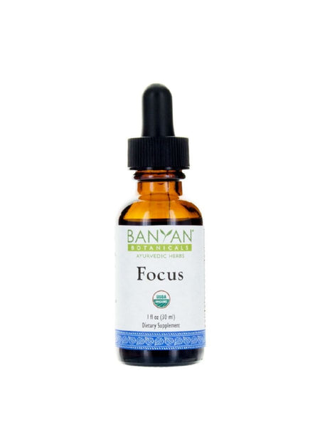 Banyan Botanicals, Focus, Liquid Extract, 1 fl oz, 30 ml