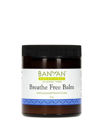 Banyan Botanicals, Breathe Free Balm, 4 oz