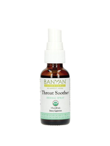 Banyan Botanicals, Throat Soother, Herbal Spray, 1 fl oz, 30 ml