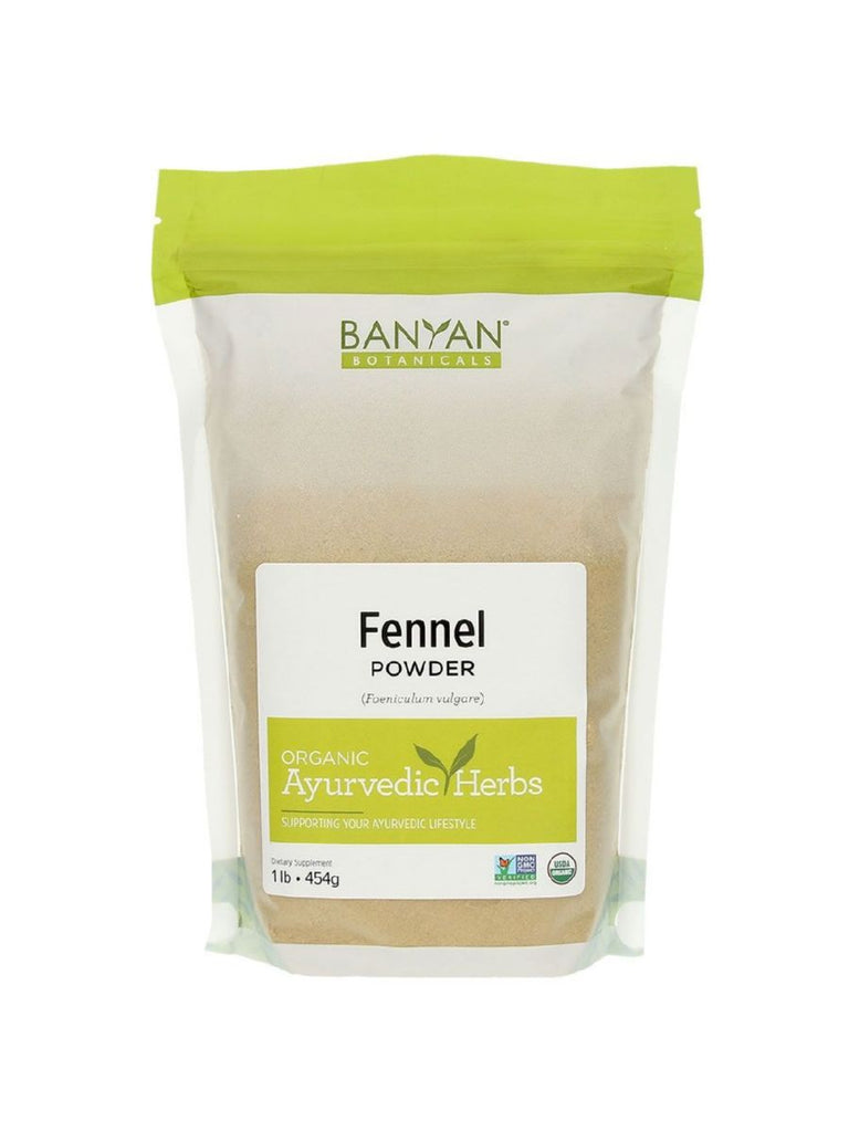 Banyan Botanicals, Fennel Powder, 1 lb