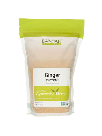 Banyan Botanicals, Ginger Powder, 1 lb
