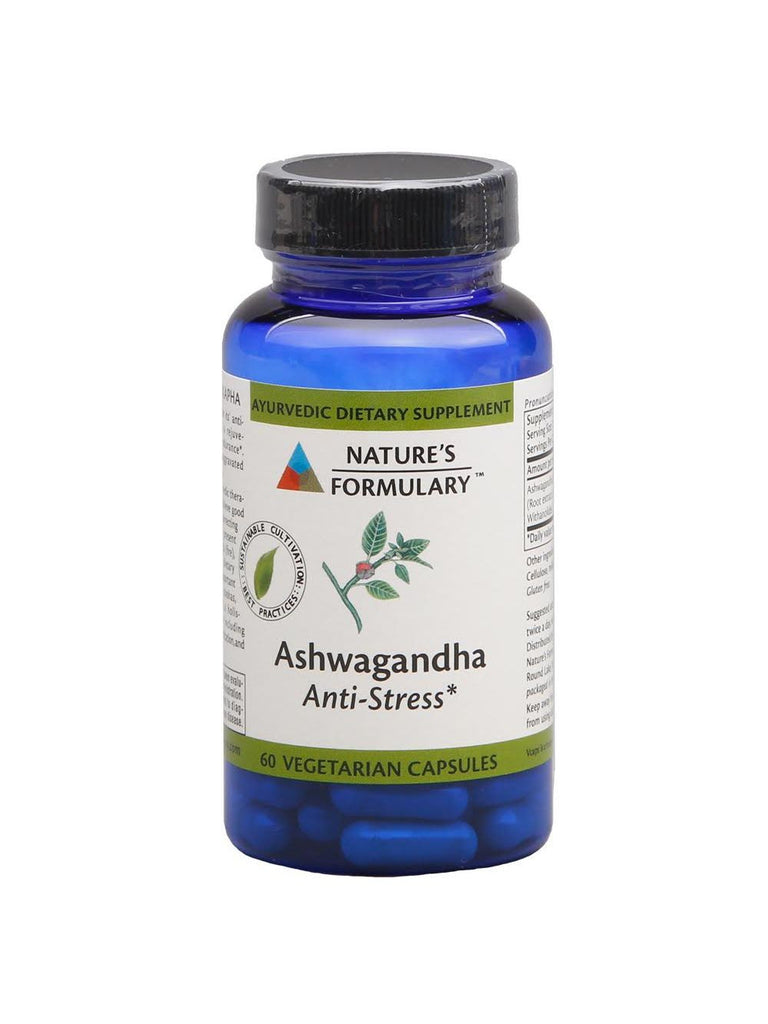 Ashwagandha, 60 veg ct, Nature's Formulary