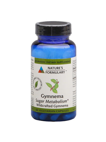 Gymnema, 60 veg ct, Nature's Formulary