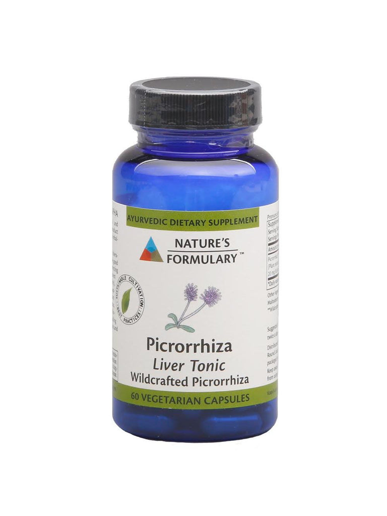 Picrorrhiza, 60 veg ct, Nature's Formulary