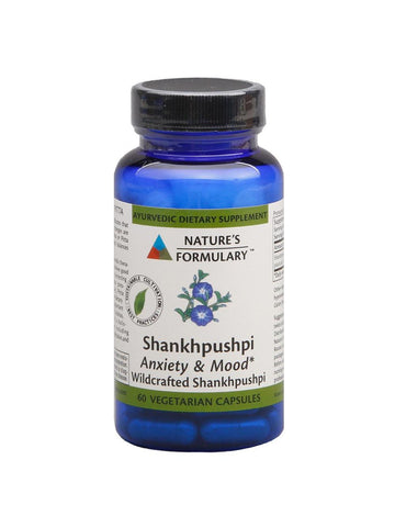 Shankhpushpi, 60 veg ct, Nature's Formulary
