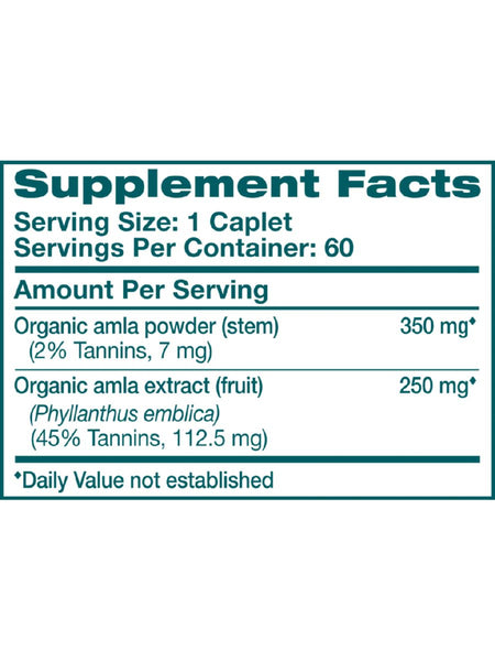 Amla, 60 ct, Himalaya Herbal Healthcare