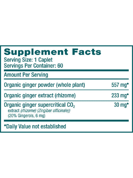 Ginger, 60 ct, Himalaya Herbal Healthcare