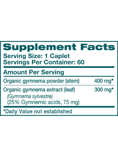 Gymnema, 60 ct, Himalaya Herbal Healthcare