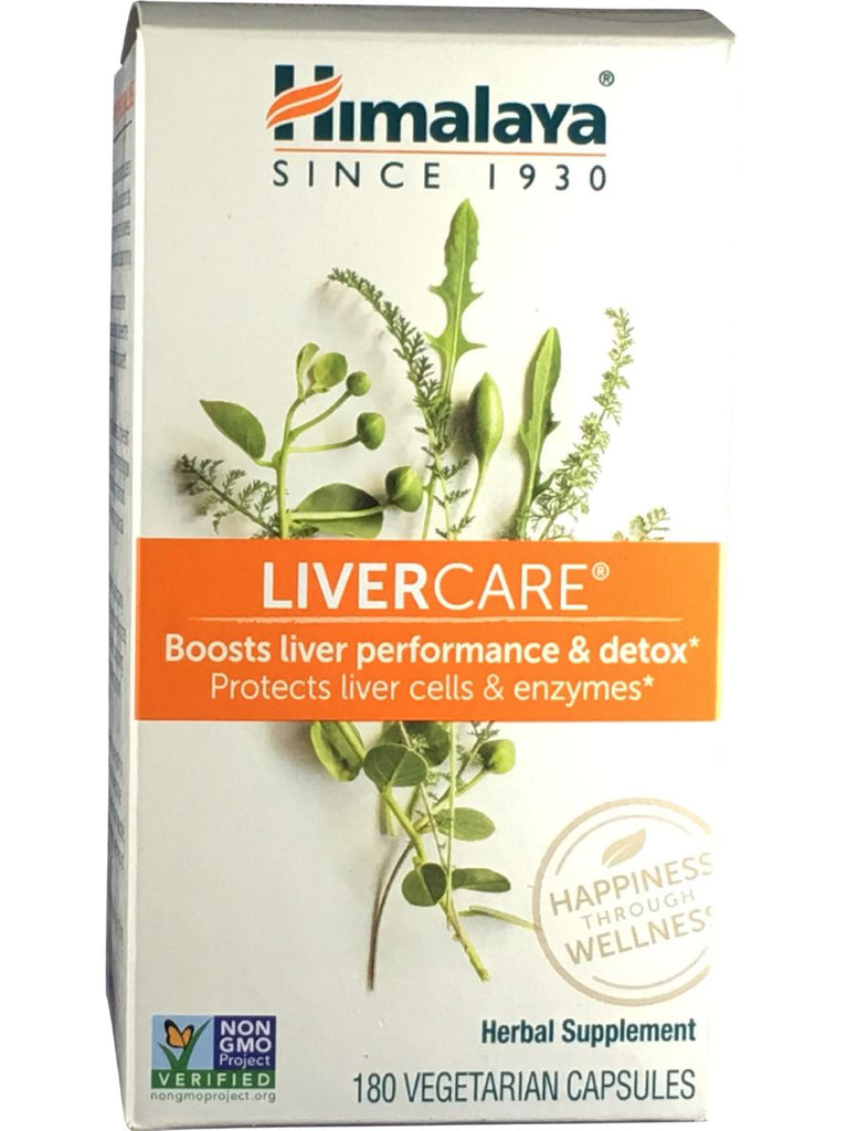 LiverCare (Liv.52), 180 ct, Himalaya Herbal Healthcare