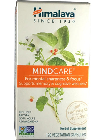 MindCare, 120 ct, Himalaya Herbal Healthcare