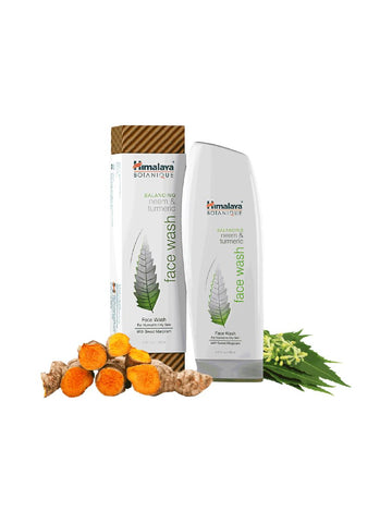 Neem & Turmeric Face Wash, 150 ml, Himalaya Herbal Healthcare