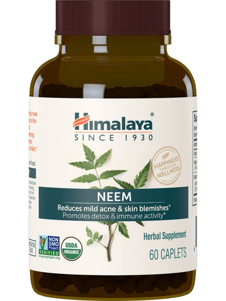Neem, 60 ct, Himalaya Herbal Healthcare