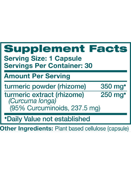 Turmeric, 60 ct, Himalaya Herbal Healthcare