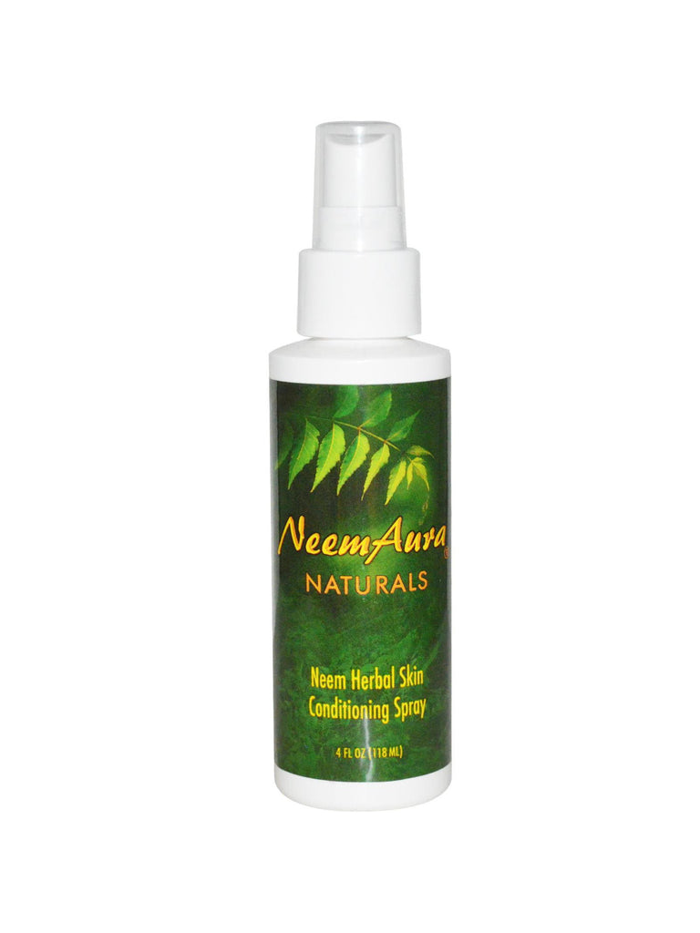 Neem Herbal Conditioning Spray, 4 oz, Neem Aura