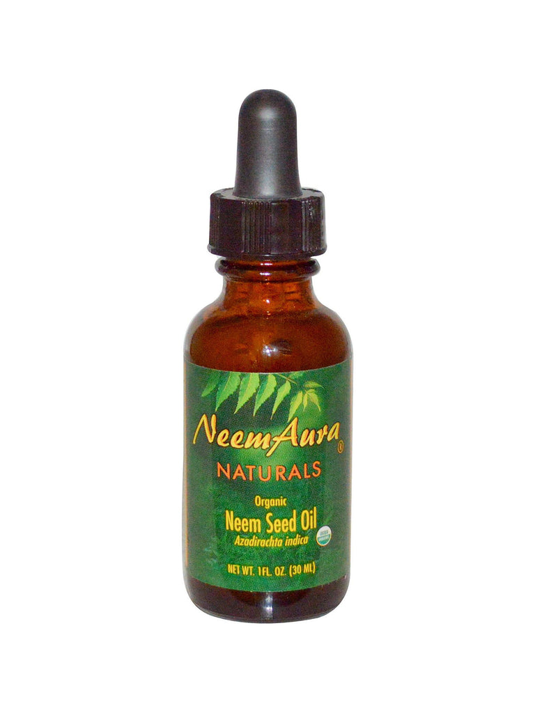 Neem Seed Topical Oil, 1 oz, Neem Aura