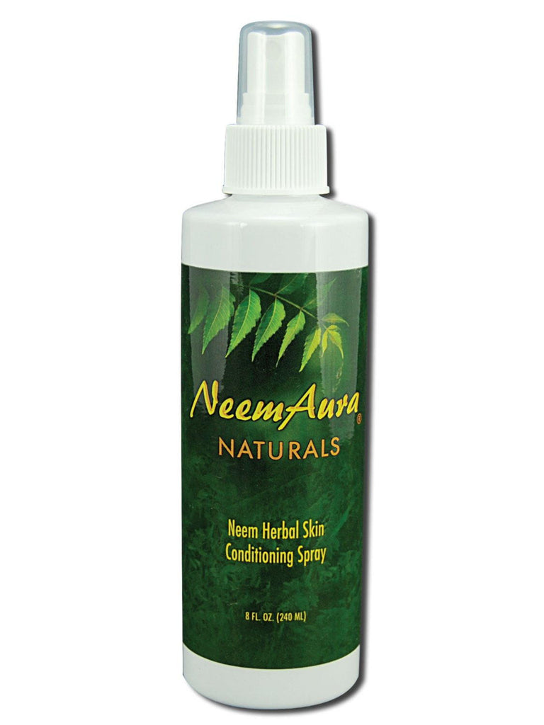 Neem Herbal Skin Conditioning Spray, 8 oz, Neem Aura