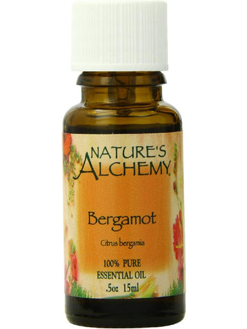 Nature's Alchemy, Bergamot Essential Oil, 0.5 oz