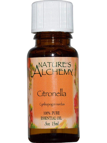 Nature's Alchemy, Citronella Essential Oil, 0.5 oz