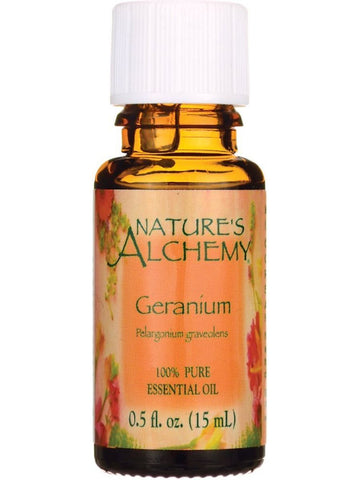 Nature's Alchemy, Geranium Essential Oil, 0.5 oz
