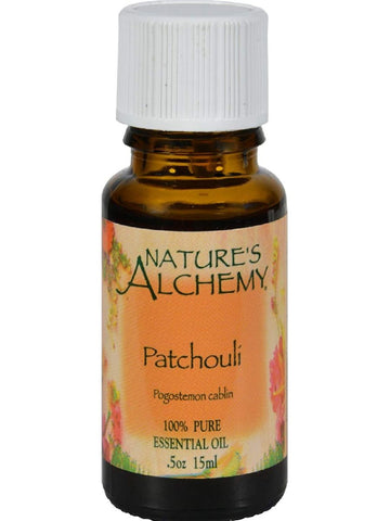 Nature's Alchemy, Patchouli Essential Oil, 0.5 oz