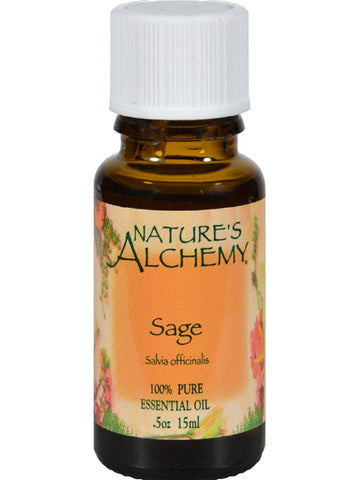Nature's Alchemy, Sage Essential Oil, 0.5 oz