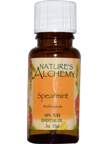Nature's Alchemy, Spearmint Essential Oil, 0.5 oz