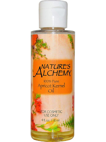 Nature's Alchemy, Apricot Kernel Carrier Oil, 4 oz