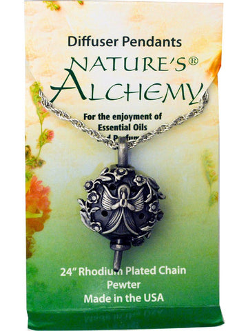 Nature's Alchemy, Angel Diffuser Necklace, 1 pc
